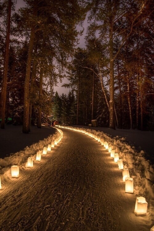 candles path advent