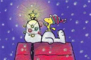 christmas tree snoppy
