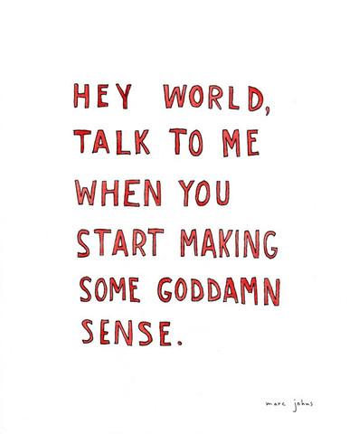 life making sense