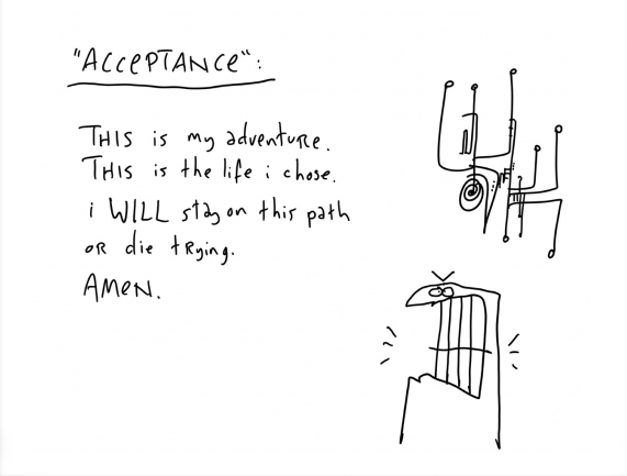 acceptance life adventure hugh