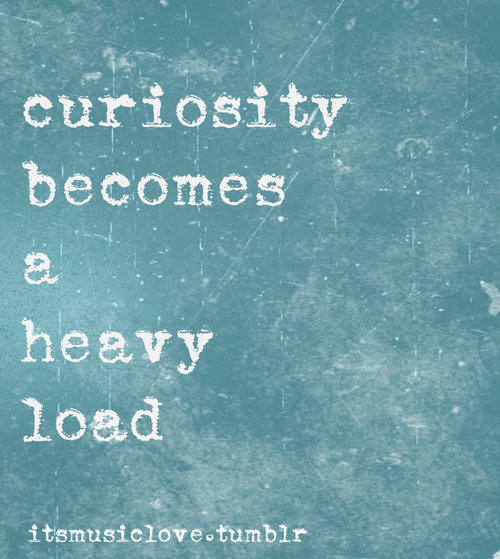 curiosity leader burden