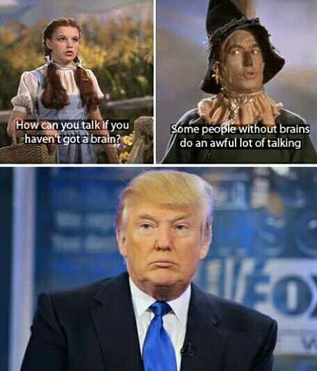 trump talk brain