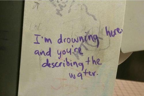 drown you describe water focus business