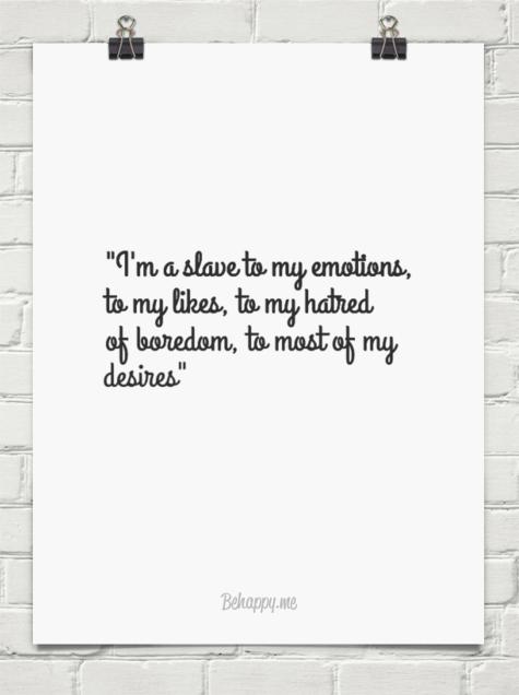 hatred of boredom f scott quote