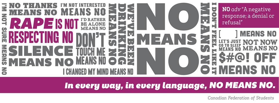 no means no | Enlightened Conflict