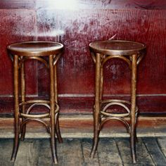bar stools empty