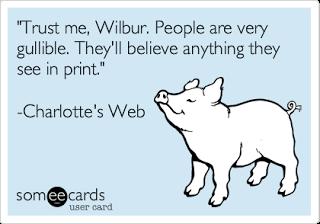 gullible charlotte's web