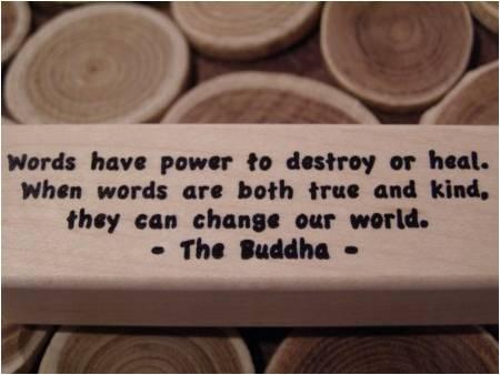words have power dear daddy