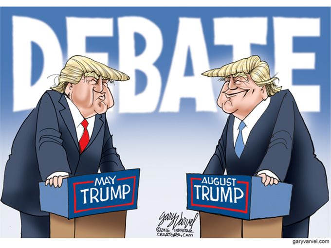 the trump debate
