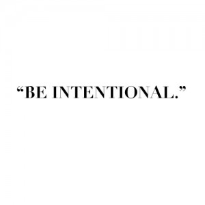 intentional-be