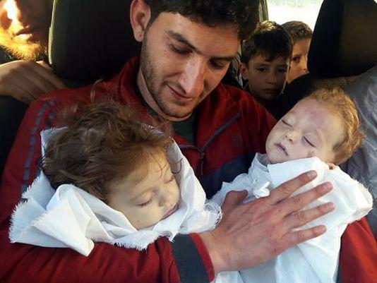 syrian twins dead