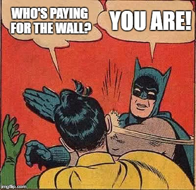 who is paying for the wall you are