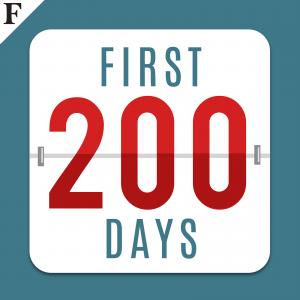 first 200 days Trump