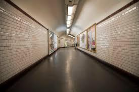 liminal space hallway metro